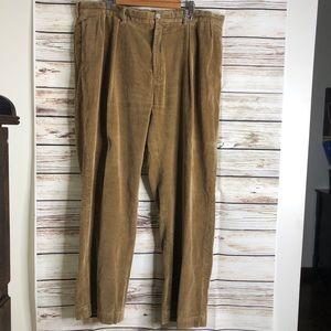 polo Ralph Lauren Corduroy Pants 42/32 tan men's